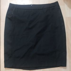 Bebe black pencil skirt size 6